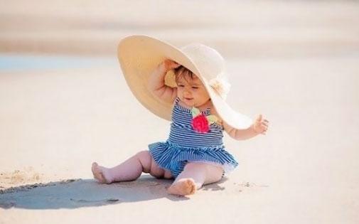 Çocuklarda Güneşten Korunma